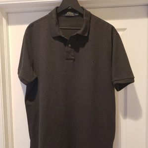 Men's XL Ralph Lauren Polo shirt Gray